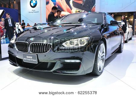 Nonthaburi - March 25:new Bm 640I Coupe M Sport On Display At The 35Th Bangkok International Motor S