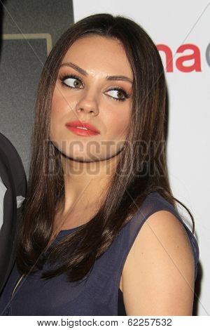 LOS ANGELES - MAR 27:  Mila Kunis at the  CinemaCon 2014 - Warners Brothers Photocall at Caesars Palace on March 27, 2014 in Las Vegas, NV