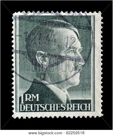 Adolf Hitler stamp 1942