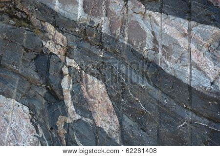 Gneiss, Dolerite and Granite