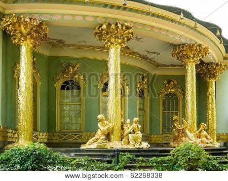Overview Of The Chinese House, Sanssouci. Potsdam. Germany