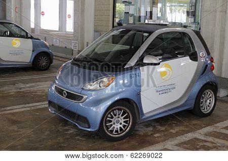 Parking Enforcement Vehicle