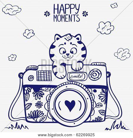 camera kitten