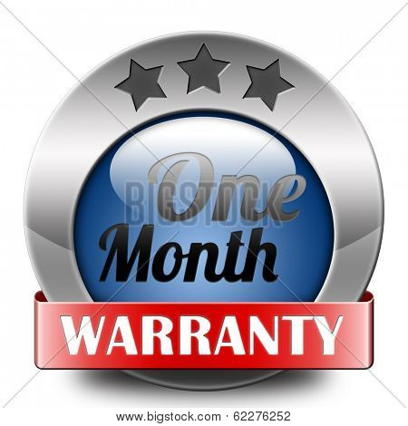 1 month warranty top quality product one month assurance and replacement best top quality guarantee guaranteed commitment