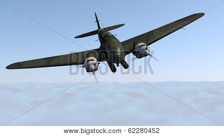 word war two german bomber