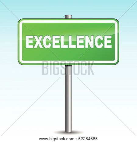 Vector Excellence Signpost