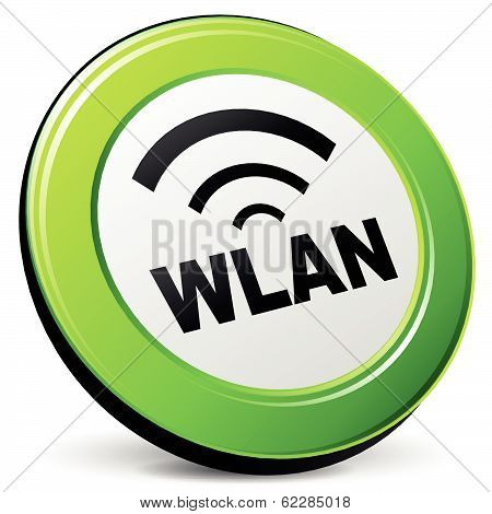Vector Wlan 3D Icon