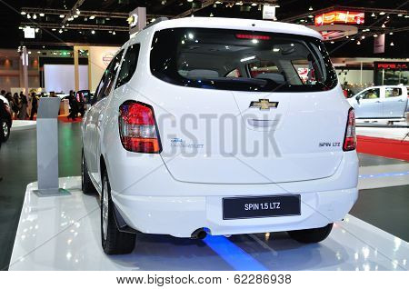 Nonthaburi - March 25: New Chevrolet Spin 1.5 Litre On Display At The 35Th Bangkok International Mot