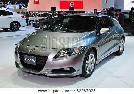 Nonthaburi - March 25: New Honda Cr-z On Display At The 35Th Bangkok International Motor Show On Mar