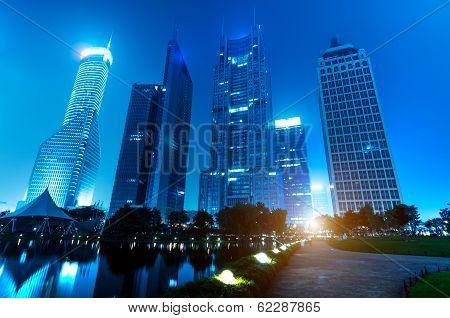 Park Night View