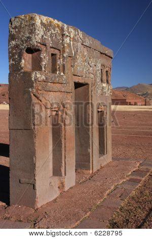 Tiwanaku Gate Of The Sun