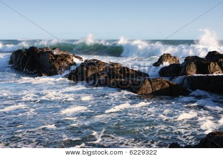 Beautiful Sea And Rocks