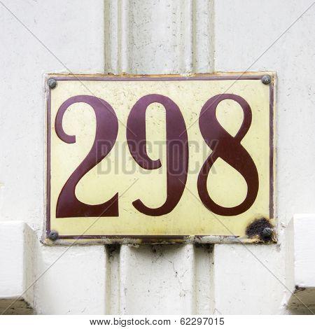 Number 298