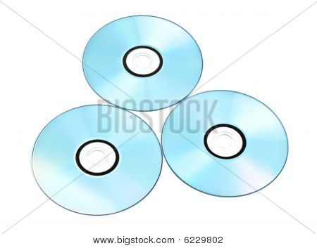 Printable Dvds Isolated On White