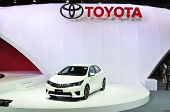 Nonthaburi - March 25: New Toyota Altis E-sport On Display At The 35Th Bangkok International Motor S