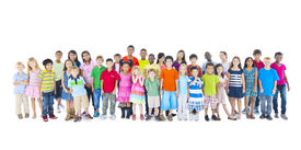 stock photo of pre-adolescents  - Large Group of Children - JPG