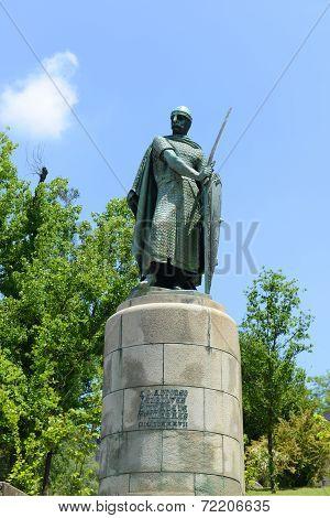 Statue of Afonso I, Guimaraes, Portugal