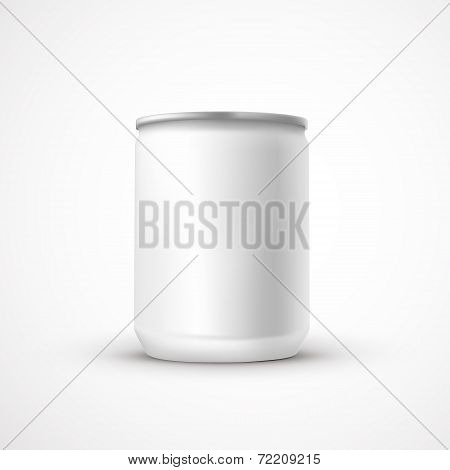 Blank Aluminum Can Template