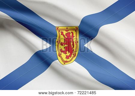 Canadian Provinces Flags Series - Nova Scotia