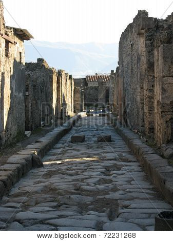 Excavations Of Pompeii