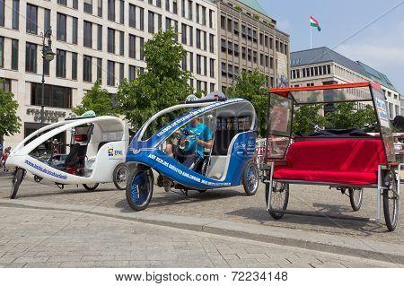 Berlin Taxi Bikes