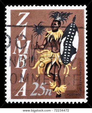 Zambia stamp 1968