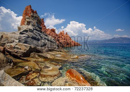 Red rocks of Arbatax, Sardinia