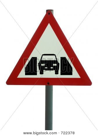 Road Sign - One Vehicle Width Structure
