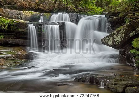 West Virginia's Dunloup Falls