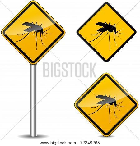 Mosquito Yellow Signs