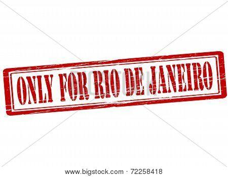 Only For Rio De Janeiro