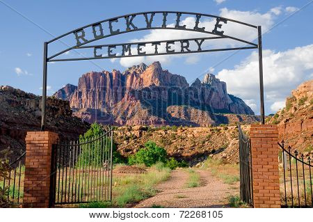rockville cemetery in zion national park