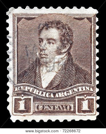 Rivadavia stamp