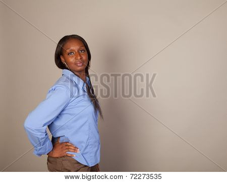 African American Spokeswoman