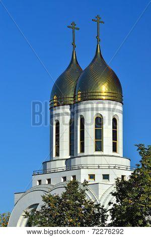 Chapel Of St. Peter And Fevronia.  Kaliningrad, Russia
