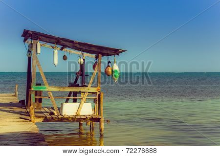 dock caye caulker belize
