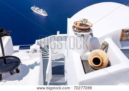 Fira,greece-september,02,2014