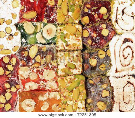Assortment Of Turkish Gourmet Delicacy