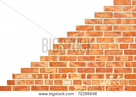 Isolated Increasing Brick Wall