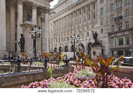 Bank of England in London.