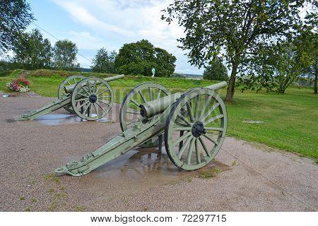Antique Cannon In Lappeenranta
