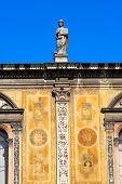 stock photo of pilaster  - Detail of the Loggia del Consiglio or Loggia di Fra Giocondo  - JPG