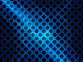 picture of nanotechnology  - Cross section grid of nanotubes computer generated abstract background nanotechnology - JPG
