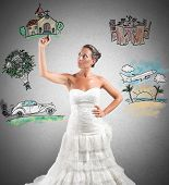 picture of draft  - A woman arranges her marriage with a draft project - JPG