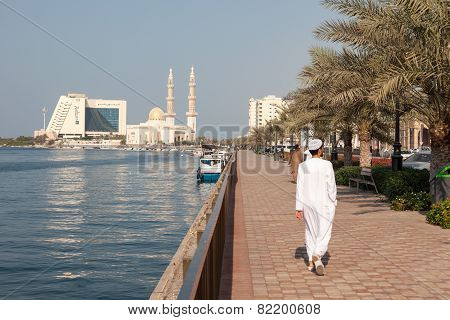 Promenade At The Sharjah Creek
