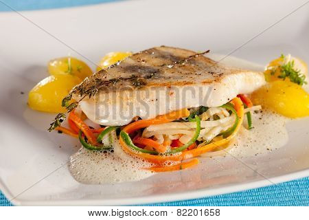 White Fish Filet Of Perch
