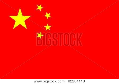People's Republic Of China Official Flag