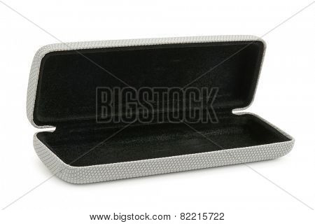 Case for glasses isolated on a white background