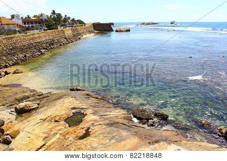 The Galle Fort. Sri Lanka