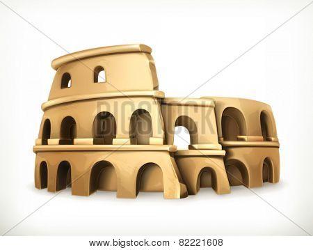 Colosseum, vector icon